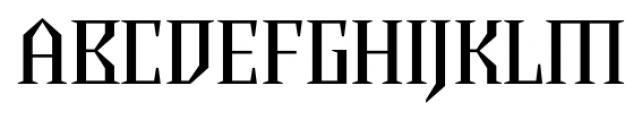 Chalice Regular Font UPPERCASE