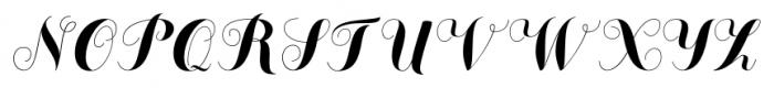 Chameleon Basic Font UPPERCASE