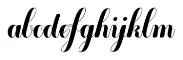 Chameleon Basic Font LOWERCASE