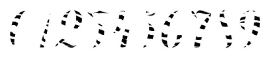 Chameleon Fill Skin1 Font OTHER CHARS