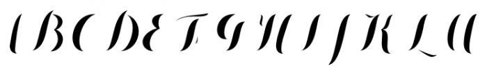 Chameleon Fill Solid Font UPPERCASE