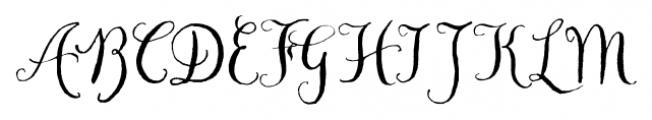 Chameleon Pen Regular Font UPPERCASE