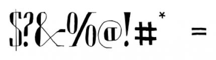 Chameleon Sketch Basic Font OTHER CHARS