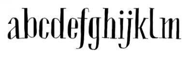 Chameleon Sketch Basic Font LOWERCASE