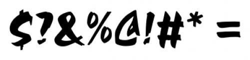 Chandler Pro Regular Font OTHER CHARS