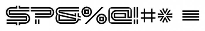 Changeling Neo Inline Font OTHER CHARS