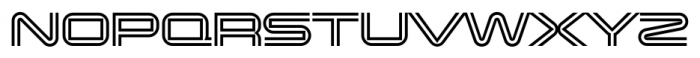 Changeling Neo Inline Font UPPERCASE