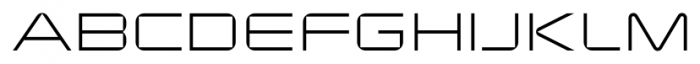 Changeling Neo Light Font UPPERCASE