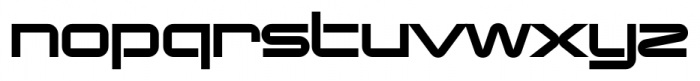 Changeling Neo Stencil Font LOWERCASE