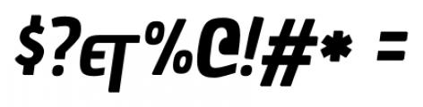 Chau La Madeleine Bold Oblicua Font OTHER CHARS