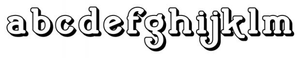 Cherritt Openface Font LOWERCASE