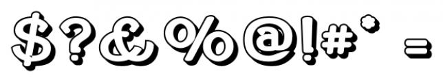 Cherritt Small Caps  Openface Font OTHER CHARS