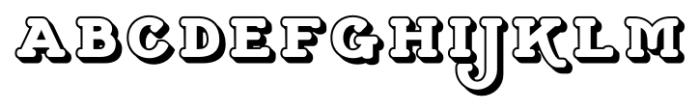 Cherritt Small Caps  Openface Font LOWERCASE
