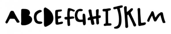 Chinchilla Black Font UPPERCASE