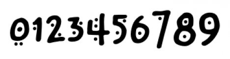 Chinchilla Dots Font OTHER CHARS