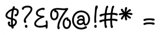 Christine Regular Font OTHER CHARS