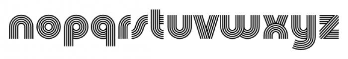 Churchward Design Lines Font LOWERCASE