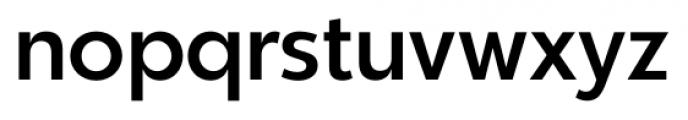 Churchward Legible Regular Font LOWERCASE