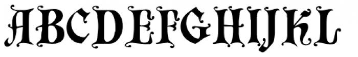 Chaillot Font UPPERCASE