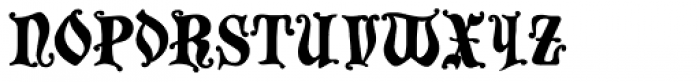 Chaillot Font LOWERCASE
