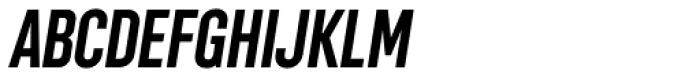 Chairdrobe Bold Italic Font UPPERCASE