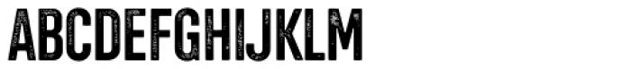 Chairdrobe Grunge Bold Font UPPERCASE