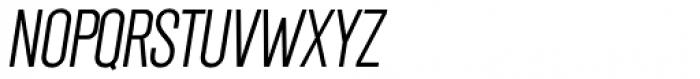 Chairdrobe Light Italic Font UPPERCASE