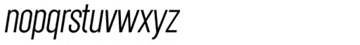 Chairdrobe Light Italic Font LOWERCASE