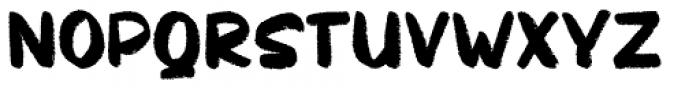 Chakie Regular Font LOWERCASE