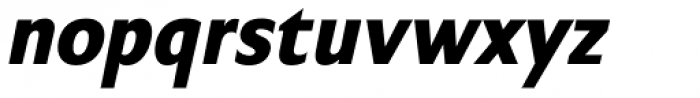 Chalfont Bold Italic Font LOWERCASE