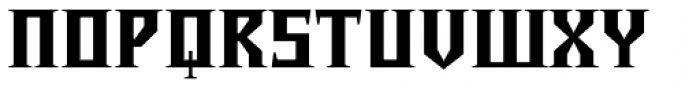 Chalice Black Font UPPERCASE