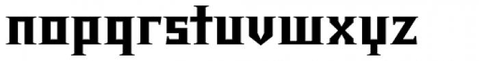 Chalice Black Font LOWERCASE