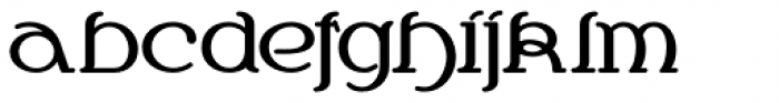 Chalk And Cheese NF Font LOWERCASE