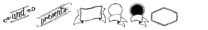 Chalk Hand Elements Font UPPERCASE
