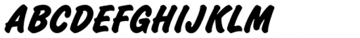 Challenge ExtraBold Font UPPERCASE