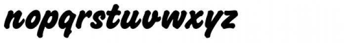 Challenge ExtraBold Font LOWERCASE