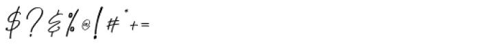 Chalofa Regular Font OTHER CHARS