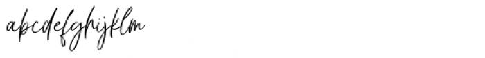 Chalofa Regular Font LOWERCASE