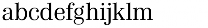 Chamber Font LOWERCASE