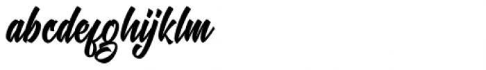 Chamberton Script Font LOWERCASE