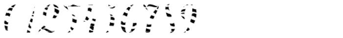 Chameleon Fill Skin 1 Font OTHER CHARS