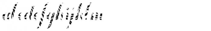 Chameleon Fill Skin 1 Font LOWERCASE