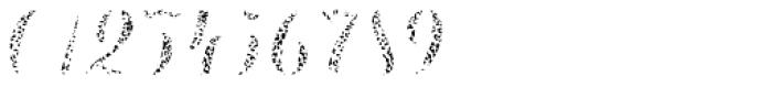 Chameleon Fill Skin 2 Font OTHER CHARS