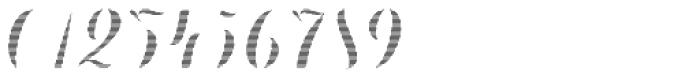 Chameleon Fill Stripe 1 Font OTHER CHARS