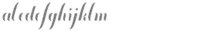 Chameleon Fill Stripe 3 Font LOWERCASE