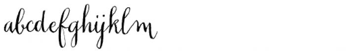 Chameleon Pen Font LOWERCASE