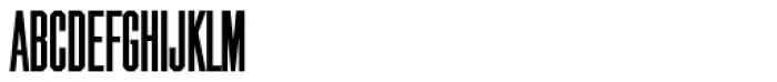 Chamfer Gothic RR Bold Font UPPERCASE