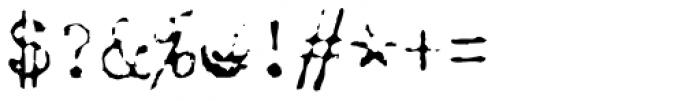 Chandler 42 Lite Font OTHER CHARS