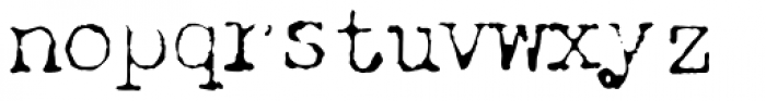 Chandler 42 Lite Font LOWERCASE
