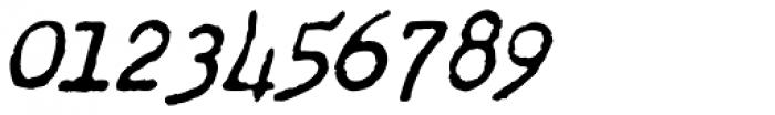 Chandler 42 Medium Oblique Font OTHER CHARS